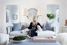 A One Kings Lane Makeover: Erin Fetherston's New Living Room