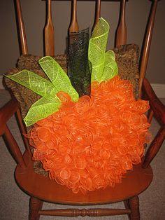 Pumkin Wreath DIY