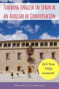 Frequently asked questions about teaching English in Spain with the auxiliar de conversación program, from past and present people in the program! Travel Articles, Travel Advice, Travel Tips, Travel Ideas, Make Money Traveling, Work Abroad, Spain Travel, Portugal Travel, Amazing Destinations