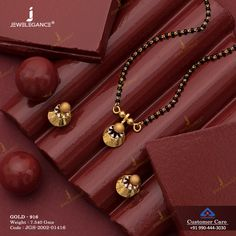 Gemstone Mangalsutra jewellery for Women by jewelegance. ✔ Certified Hallmark Premium Gold Jewellery At Best Price Gold Bangles Design, Gold Earrings Designs, Gold Jewellery Design, Gold Jhumka Earrings, Gold Bridal Earrings, Gold Mangalsutra Designs, Gold Jewelry Simple, Gemstone Jewelry, Women Jewelry