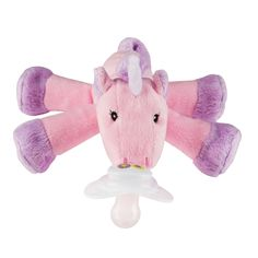 Unity Unicorn Paci-Plushies® make finding baby's pacifier a snap! Eliminate the stress of searching for lost pacifiers with our universal pacifier holder. Paci-Plushies® Pacifier Holders have a flexible Hug Ring Diaper Bag, Hello Kitty, Shower Bebe, Pacifier Holder, Everything Baby, Plush Animals, Stuffed Animals, Baby Accessories, Future Baby