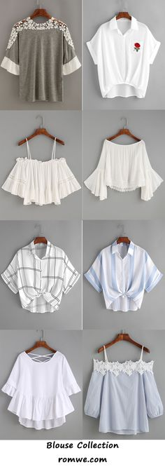 blouses collection 2017 - romwe.com