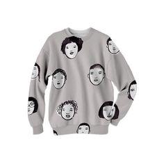 Face Time Sweatshirt - strange and I love it