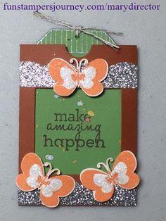 KreatesKards Journey: Making a Gift Card Sleeve, Sneak Peek, April Promotion - Fun Stampers Journey