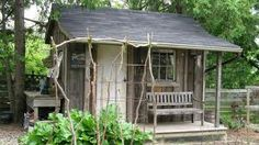 rustic old shed..good for outdoor bar-b-ques!
