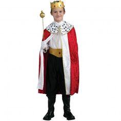 Boys King Costume