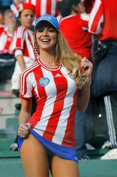 Digna representante paraguaya www.brasilcopamundotowel.com soccer a beautiful game