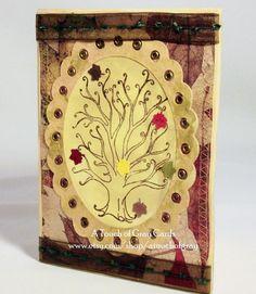 The Changing Season - Handmade Thanksgiving Card, Handmade Fall Card
