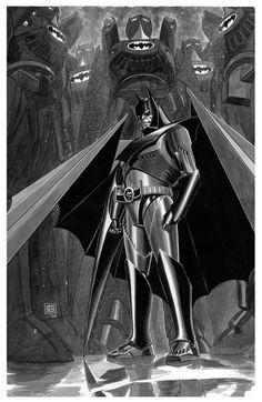 Original Comic Art titled Kindgom Come Batman by Jun Bob Kim, located in Jun Bob's Jun Bob Kim Art Vault Comic Art Gallery Batman Suit, I Am Batman, Batman Vs Superman, Super Batman, Batman Logo, Batgirl, Nightwing, Kingdom Come Batman, Comic Books Art