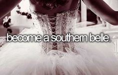 -become a southern belle.