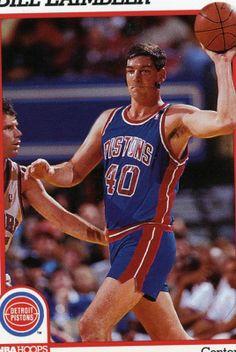 RARE 91 92 NBA HOOPS BILL LAIMBEER DETROIT PISTONS MINT Detroit Basketball 4ce4b8562