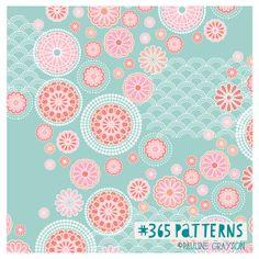 kimono pattern, #365patterns, little girl