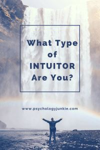 How do YOU use Intuition? Are you a Ni-User (INFJ, INTJ, ENTJ, ENFJ) or a Ne-User (ENFP, ENTP, INTP, INFP) Find out!