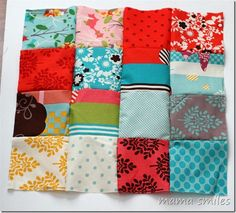 Easy DIY Patchwork Doll Quilt Tutorial | What a great project for Ava & I to try together!!
