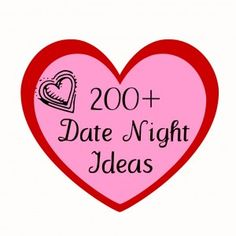 Date Night Ideas - I'm not very creative when it comes up to thinking of fun, cheap dates so this is great!