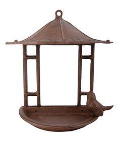 Look what I found on #zulily! Pagoda Bird Feeder #zulilyfinds