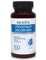 CHROMIUM PICOLINATE 200mcg 100 Capsules - Anyone who likes to live with energy, burn fat, and increase strength and muscle mass would also do well to supplement with chromium.