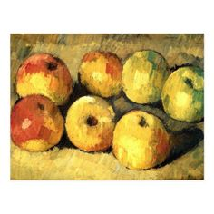 Apples, 1878 by Paul Cezanne, Impressionist period. still life. Fitzwilliam Museum (University of Cambridge), Cambridge, UK Kandinsky, Cezanne Still Life, Paul Cezanne Paintings, Cezanne Art, Oil Paintings, Still Life With Apples, Art Sur Toile, Apple Art, Aix En Provence