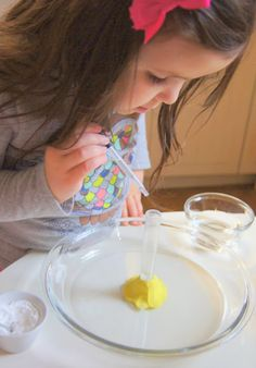 Test Tube Volcano Activity from Making Montessori Ours