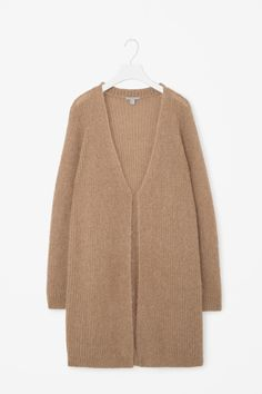 Mohair and wool cardigan