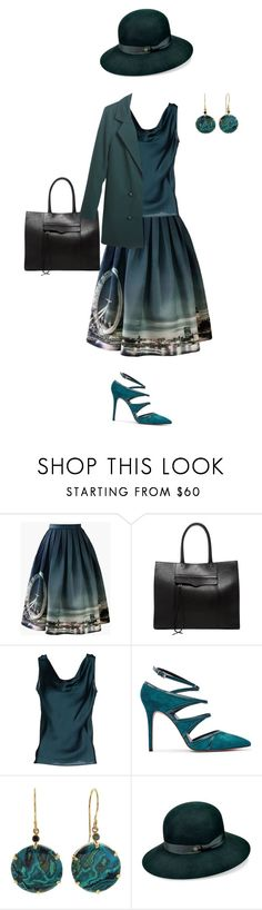 """""""A warm but windy day."""" by violetluvli0987 ❤ liked on Polyvore featuring Chicwish, Rebecca Minkoff, Clips, Odin, Jamie Joseph, Karen Kane and Relaxfeel"""