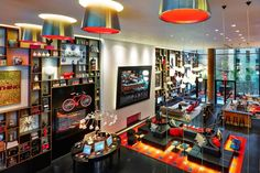 citizenM Times Square Hotel by Concrete Architectural Associates, New York City hotel hotels and restaurants
