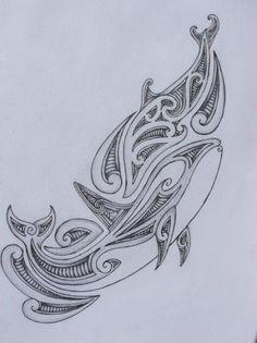 Orca Tribal Tattoos Tribal orca/dolphin