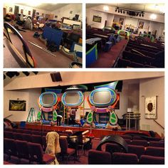 Millersburg Assembly of God in Millersburg, PA... we are messing up your sanctuary right now. the invasion has begun... #KidzTurnInvasion  - Millersburg Assembly of God - Millersburg, PA  - August 4-7 2013