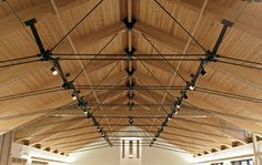 Wood roof trusses give you a level of unmatched design options. In fact, your wood roof truss can be custom-designed to match the individual architectural style of your structure. Architecture Design Concept, Timber Architecture, Architecture Details, Steel Trusses, Roof Trusses, Timber Roof, Metal Roof, Roof Truss Design, Wood Truss