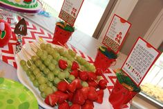 """Photo 1 of 26: A Very Hungry Caterpillar First Birthday / Birthday """"Preston's first birthday"""" 