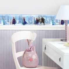 Disneys Frozen Peel  Stick Border By RoomMates, Room Mates Peel