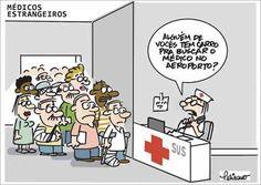 Médicos estrangeiros chegando no SUS...