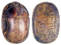 historical artifacts | Go Big': Ancient Egyptian artifacts Scarab 1070 - 712 BC