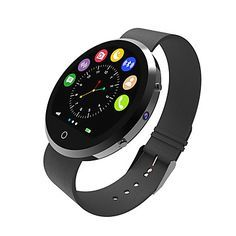 New Arrival Round Smart Watch Health Monitor Bluetooth Smartwatch Support SIM Card For IOS Android Smartphone 3 Colors 5338672 2016 – $62.99