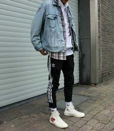 men's street style outfits for cool guys Streetwear Mode, Streetwear Fashion, Mens Streetwear 2018, Men Street, Street Wear, Mode Man, Moda Blog, Herren Outfit, Mode Outfits