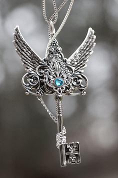 Silver Epic Winter Key Necklace