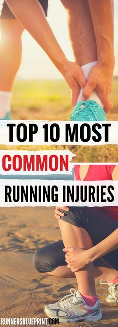 Inside of this post, you will learn the exact steps you need to take to spot, treat and prevent 10 of the common running injury in the running world. Top 10 Most Common Running Injuries – Treatment & Prevention http://www.runnersblueprint.com/most-common-running-injuries-treatment-prevention/
