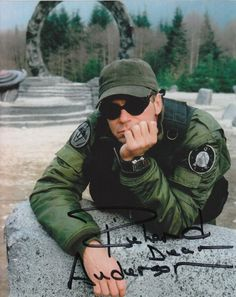 Richard Dean Anderson signed STARGATE photo