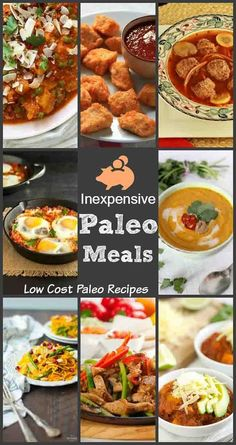 Inexpensive Paleo Meals. Low cost paleo recipes