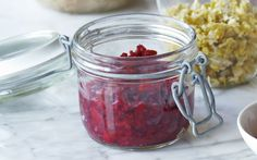 Make your own smart sauerkraut with red cabbage, juniper and coriander, to   help heal your digestive system