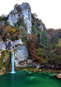 """""""Ilıca Falls"""", from """"Küre Mountains"""" (Pınarbaşı, Kastamonu) in Turkey. I am planning to see the region in the autumn as they say the colors of the forest are most amazing in the fall. Küre Mountains is one of the national parks in Turkey which is also known to be home of many endemic plants."""