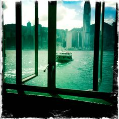 Summertime on the Star ferry...