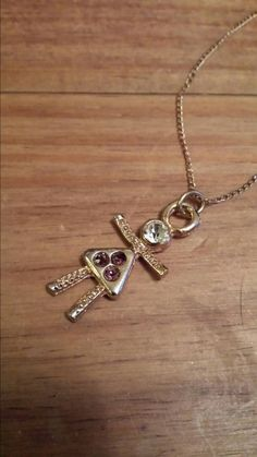 12kt Gold Filled NecklaceVintage Doll Necklace