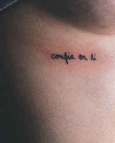 tattoos in spanish tattoos in spanish _ tattoos in spanish meaningful _ tattoos in spanish words _ tattoos in spanish for women Bild Tattoos, Body Art Tattoos, Tatoos, Tatuajes Tattoos, Small Girl Tattoos, Tattoos For Women, Intimate Tattoos, Subtle Tattoos, Beste Tattoo