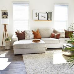 A Modern Apartment Living Room: Home and Interior – Get Yourself a Stylish Living Room That's Fun My Living Room, Living Room Interior, Home And Living, Living Room Furniture, Living Spaces, Cozy Living, Long Living Rooms, Neutral Living Rooms, Living Room Prints