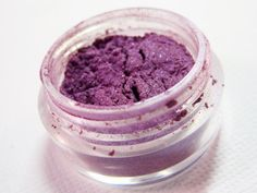 Mineral Makeup Eyeshadow Passion Purple  by sweetsbodytreats