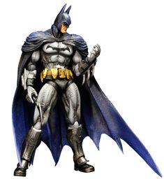 Another awesome version of Batman...Dark Knight Batman Arkham City Play Arts Kai action figure