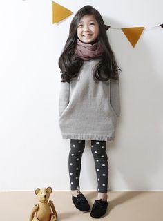 [The Jany] Children's Polka Dot Leggings