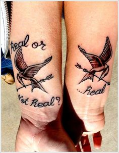 Unique Tattoo Designs For Couples: Bird Tattoo Designs For Couples On Arm ~ Men Tattoos Inspiration