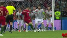 Penalty Kick Turned Ito A Cool Goal  #WorldCup #WorldCup2018 #WorldCupRussia2018  #GIF #AngryGIF